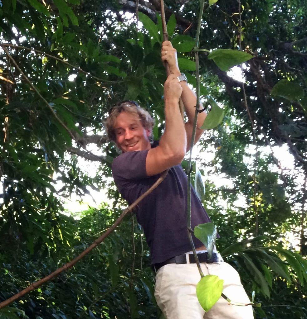 Andreas i djungel